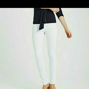 AG Adriano Goldschmied The Stilt white jeans